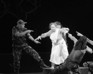 PLATE 11.4.Heisnam Sabitri in Dropdi.Black and White. Photo Credit- Poulami Das